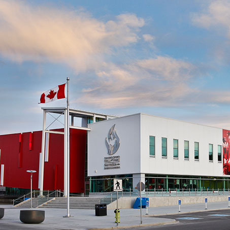 Canada Sports Hall of Fame header