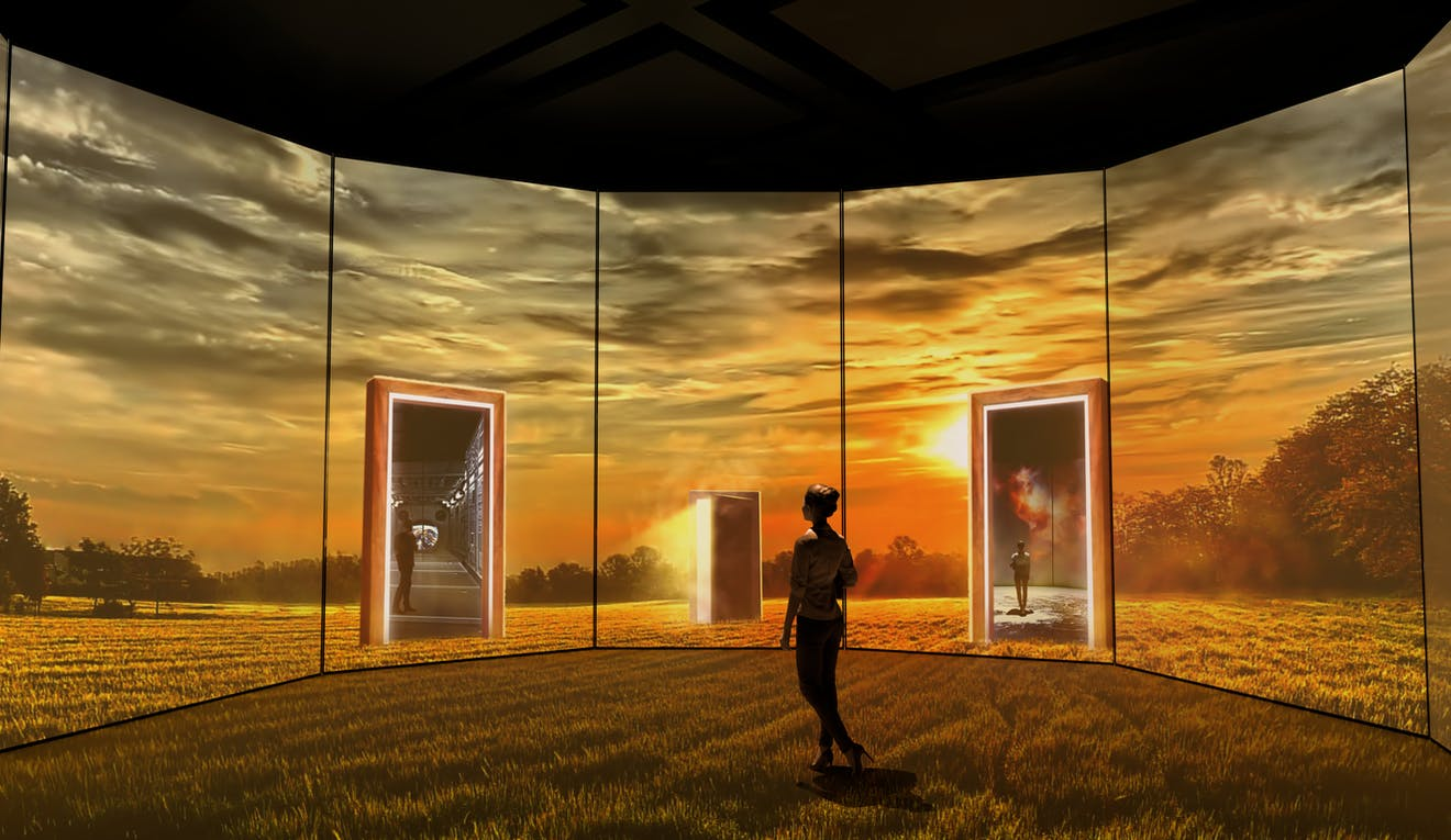 digital immersion gallery